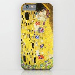 "''The Kiss"" Gustav Klimt iPhone Case"