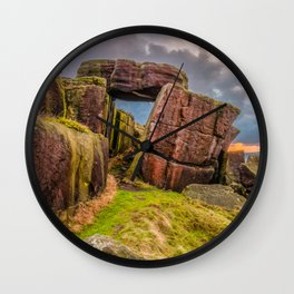 Gate to the skies Wall Clock