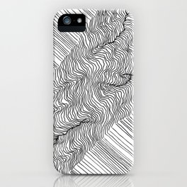 Rift Lines iPhone Case