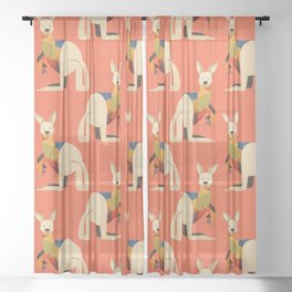 Kangaroo Sheer Curtain