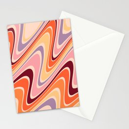 Oil Spill Pastel  Stationery Cards