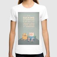 jake T-shirts featuring Jake Wisdom by Virtual Window
