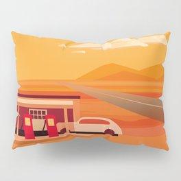 Tonapah Gas Station Pillow Sham