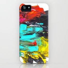Paint t black VI iPhone Case