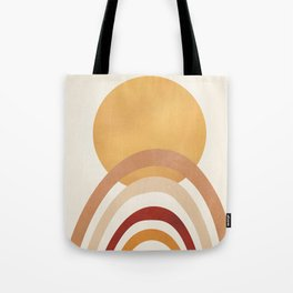 The Sun and a Rainbow II Tote Bag