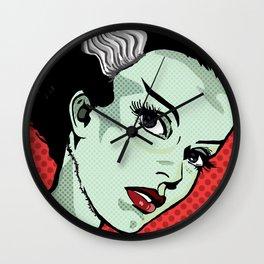 The Bride of Lichtenstein Wall Clock