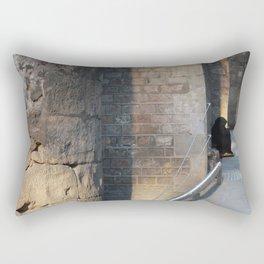 Barcelona - A Beggar at the Gothic quarter Rectangular Pillow