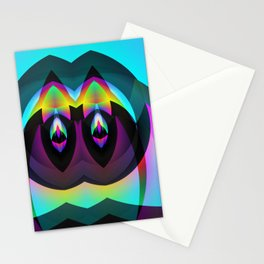 BLACK AND BRIGHT Stationery Cards