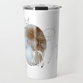 damaged fawns Travel Mug