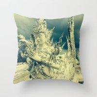 thailand Throw Pillows featuring Thailand by very giorgious