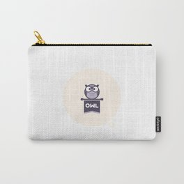 Owl Mascot Carry-All Pouch