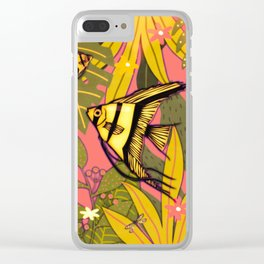 Angel Fish #2 Clear iPhone Case