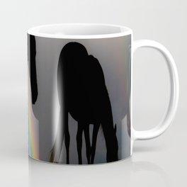 Silhouette of Color Coffee Mug