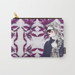 Purple Fusion Carry-All Pouch