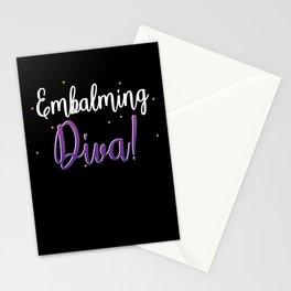 Embalming Diva Embalmer Morgue Mortician Casket Gift Stationery Cards