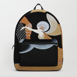 "Art Deco Design ""The Angel"" Backpack"