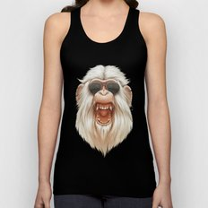 The Great White Angry Monkey Unisex Tank Top
