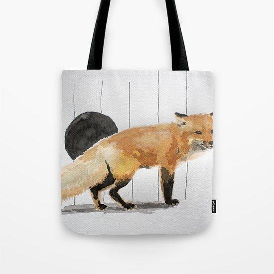 Smiling Fox Tote Bag