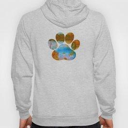Dog Paw Print Hoody