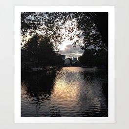 London, Little Venice Art Print