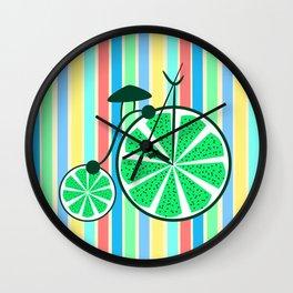 Kiwi ride Wall Clock