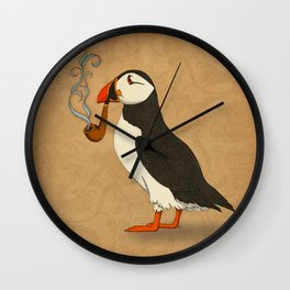 Puffin' Wall Clock