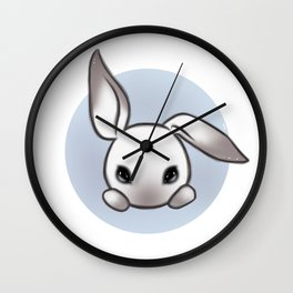 Cute Bunny Wall Clock