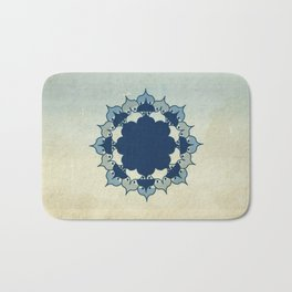 Lotus Mandala Sand Water Wash Bath Mat