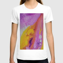 On the other side abstract art by Saribelle T-shirt