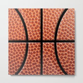 BasketBall Dreams Metal Print