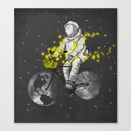 Sower of stars Canvas Print