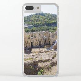 Acropolis, Athens Clear iPhone Case