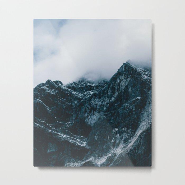 Cloud Mountain - Landscape Photography Metal Print