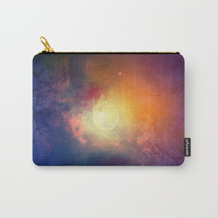 Watercolor Space #3 Carry-All Pouch