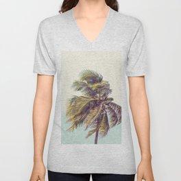 Tropical Vibe Unisex V-Neck