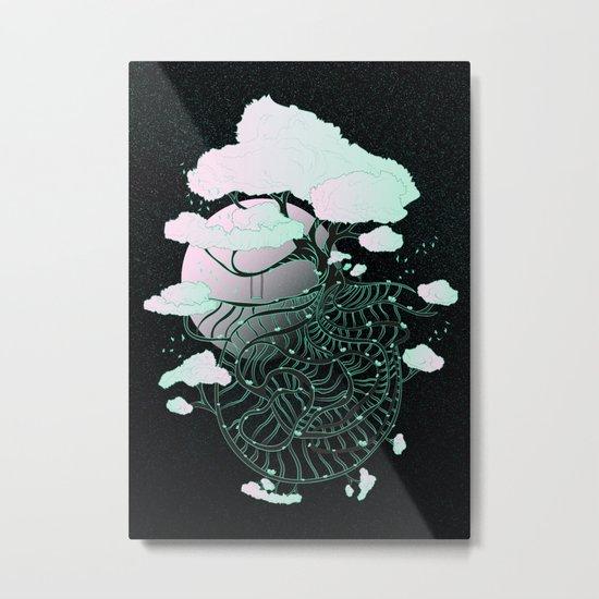 Celestial Tree Metal Print