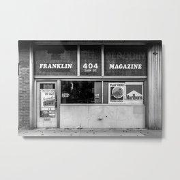 Storefronts 2 Metal Print