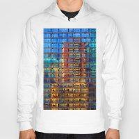 buildings Hoodies featuring Buildings in Buildings by davehare