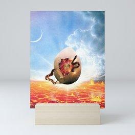 ON / Cosmic Egg Mini Art Print