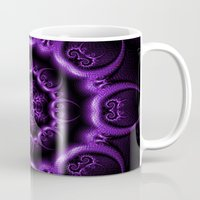 heavy metal Mugs featuring Heavy Metal by inkedsandra