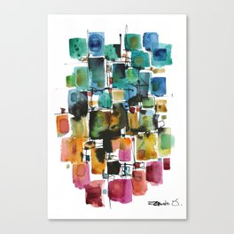 PIECES Canvas Print