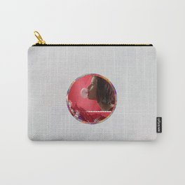 Bubble - Red Carry-All Pouch