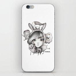 Fionna & Friends  iPhone Skin