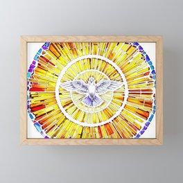 Holy Spirit in Christianity Catholic Church Trinity Sacred, God, Jesus, Bible Framed Mini Art Print