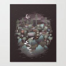 The North Canvas Print