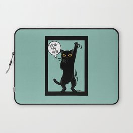 Now I am here Laptop Sleeve