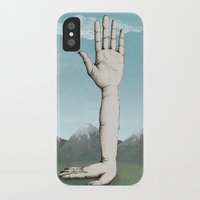 hands iPhone & iPod Cases featuring Hands by Bwiselizzy