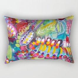 chimere de la collection au jardin Rectangular Pillow
