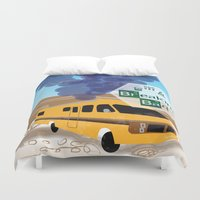 lab Duvet Covers featuring Breaking Bad Lab by famenxt