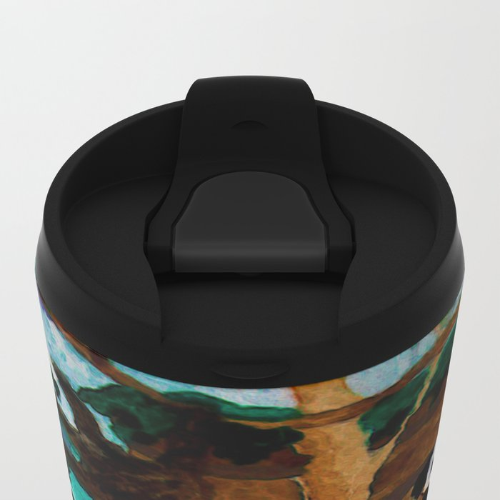 Into the Forest Metal Travel Mug